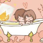 トロケアウでローション風呂やってみた♡ヌルヌルした触感が癖になりそう・・・。